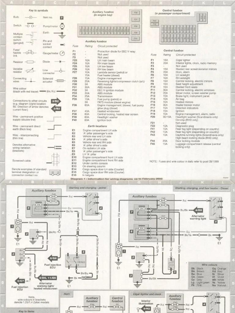 ford fiesta mk7 headlight wiring diagram 2005 honda accord electric schematic