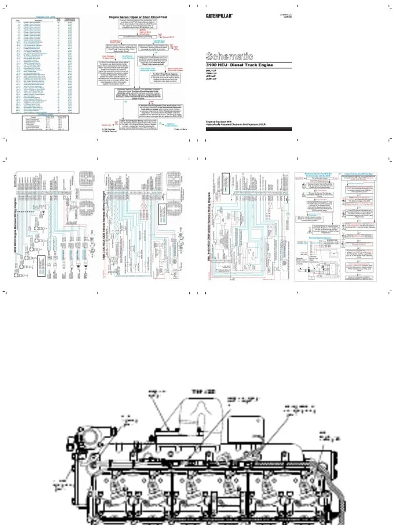 small resolution of cat 3126 eletric diagrama fuel injection turbocharger 81 c10 wiring diagram cat c10 allison wiring