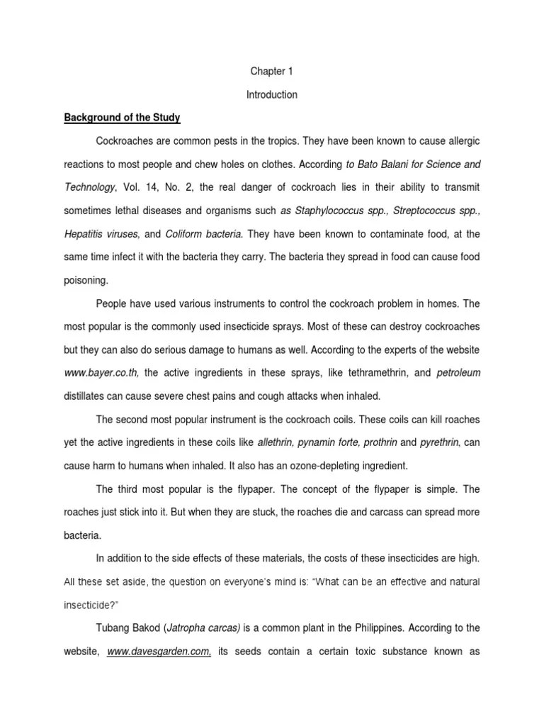 Academic Background Essay 1055 1111 Effective Academic Thesis