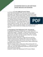 Sejarah Dakwah Rasulullah Periode Mekah : sejarah, dakwah, rasulullah, periode, mekah, Sejarah, Dakwah, Rasulullah, Periode, Mekkah, Madinah