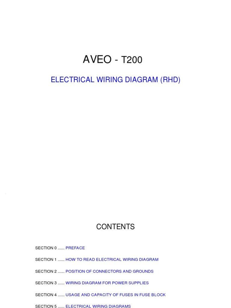 medium resolution of aveo electrical wiring diagram anti lock braking system electrical connector