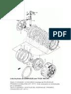 Diagrama del Cableado Eléctrico Moto Honda