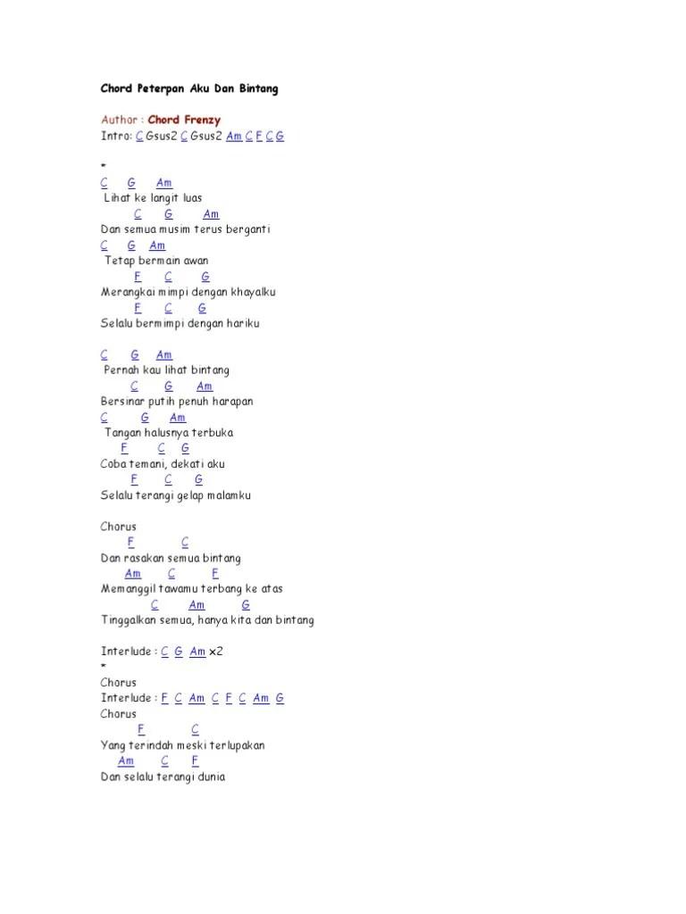 Chord Koyo Langit Ambi Bumi : chord, langit, Kumpulan, Chord, Gitar