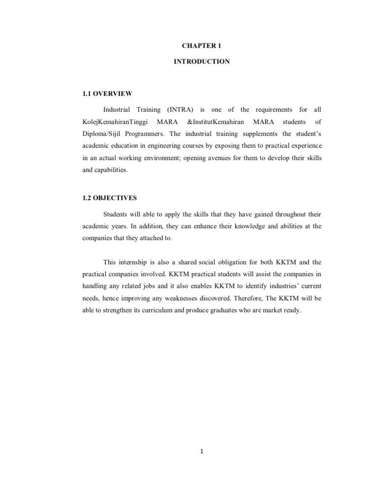 Example Practical Report Sony