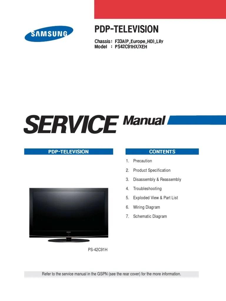 samsung flat screen tv wiring diagram [ 768 x 1024 Pixel ]