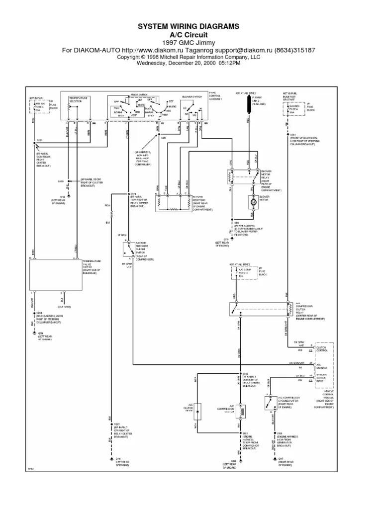 Fine diakom auto wiring diagrams pictures electrical diagram ideas