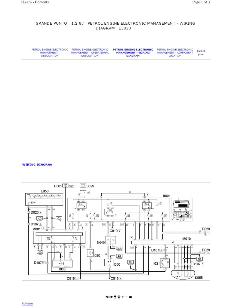 hight resolution of fiat grande punto wiring diagram pdf