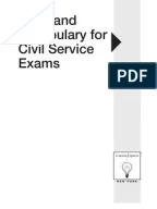 Part I Philippines' Civil Service Professional Reviewer