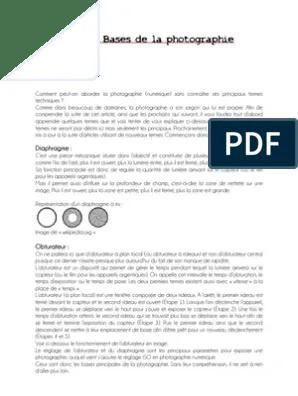 Les Bases De La Photographie Pdf : bases, photographie, Bases, Photographie, Objectif, Photographique