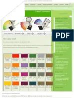 Color Chart (Ral No.,Bs381c,Bs4800,Bs2660,Bs5252)