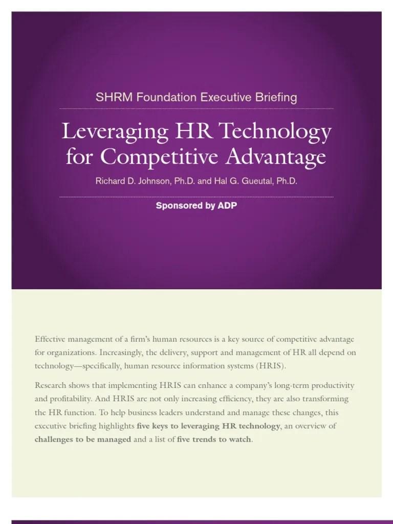 Hris Exec Briefing Final1