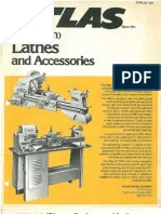 Atlas Manual Of Lathe Operation And Machinists Tables