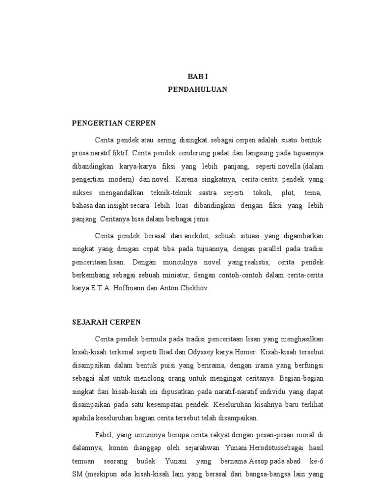 Cerita Rakyat Pendek Dan Pesan Moralnya : cerita, rakyat, pendek, pesan, moralnya, Cerpen, Singkat, Pesan, Moralnya, Lukisan