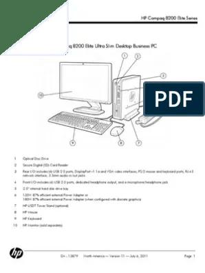 Hp 8200 Elite Motherboard Diagram : elite, motherboard, diagram, Specs, 802.11