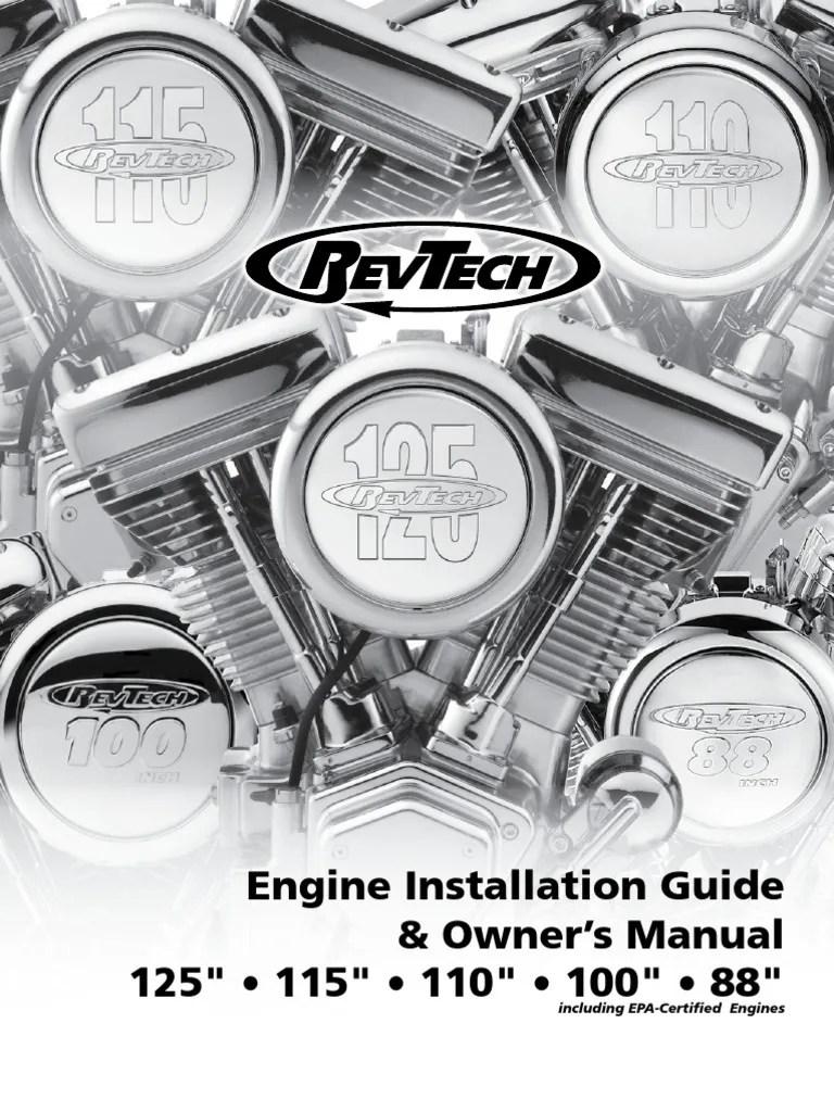 medium resolution of revtech engine installation guide 2 transmission mechanics carburetor