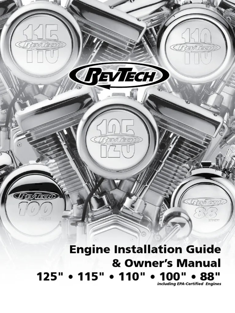 medium resolution of revtech engine installation guide 2 transmission mechanics carburetor