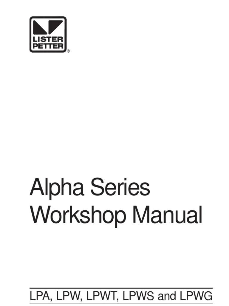 lister starter motor wiring diagram [ 768 x 1024 Pixel ]
