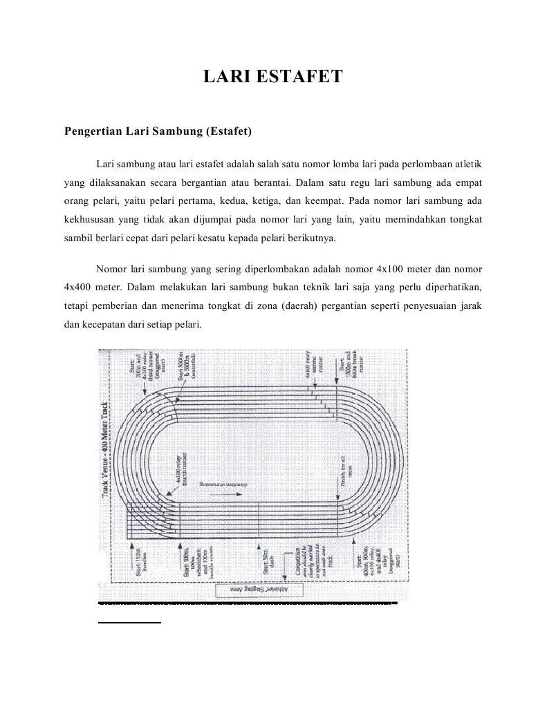 Teknik Penyerahan Tongkat Estafet : teknik, penyerahan, tongkat, estafet, Pelari, Terakhir, Nomor, Estafet, Menggunakan, Start
