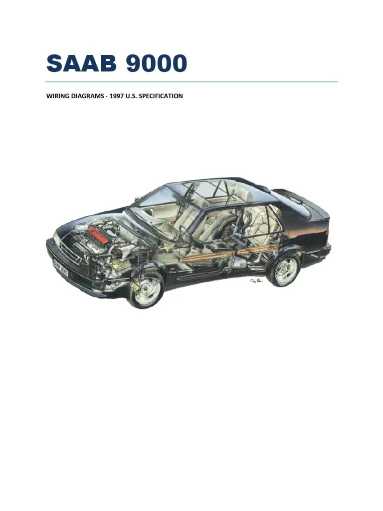 medium resolution of saab 9000 wiring diagram