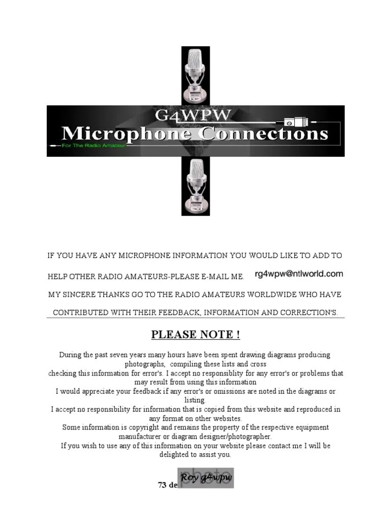 small resolution of mc 48b microphone wiring diagram