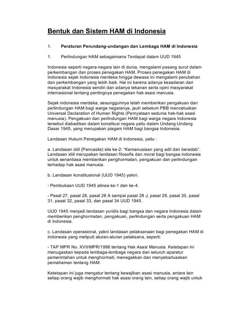 4 Lembaga Perlindungan Ham Di Indonesia : lembaga, perlindungan, indonesia, Bentuk, Sistem, Indonesia