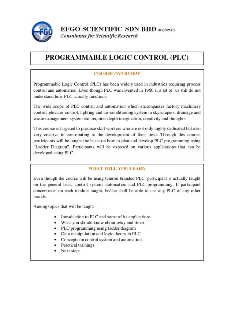 small resolution of basic programmable logic control plc programmable logic controller timer