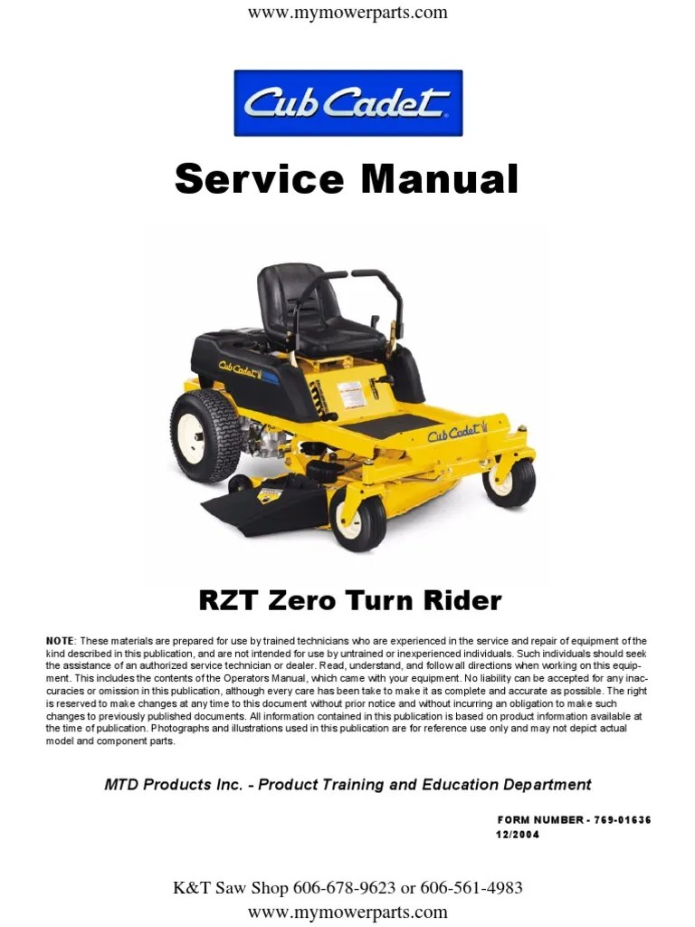 hight resolution of cub cadet rzt 42 wiring diagram free download