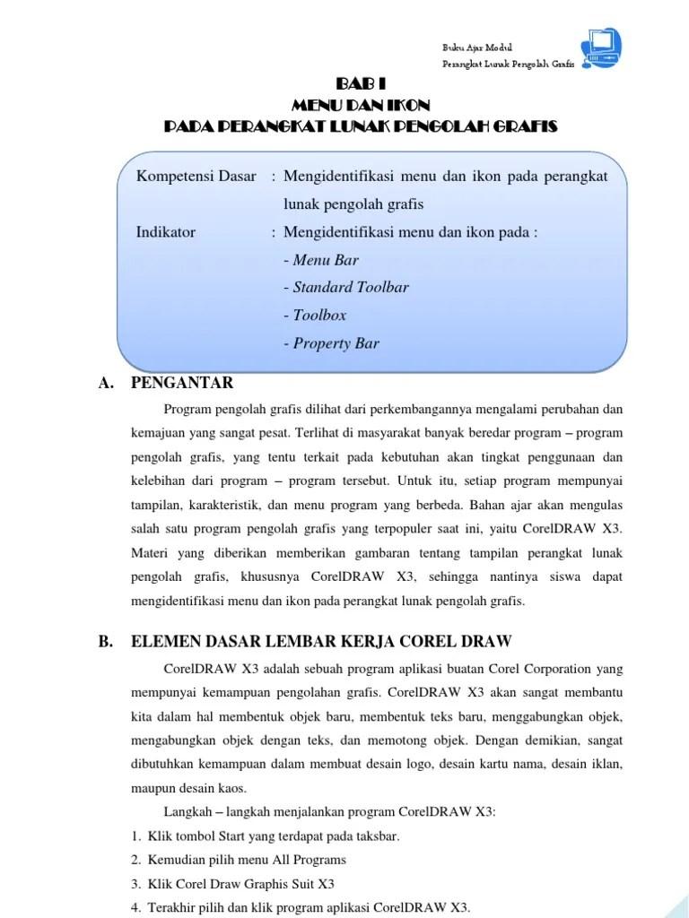 Modul Corel Draw X5 Lengkap : modul, corel, lengkap, Modul, CorelDRAW, Komplit