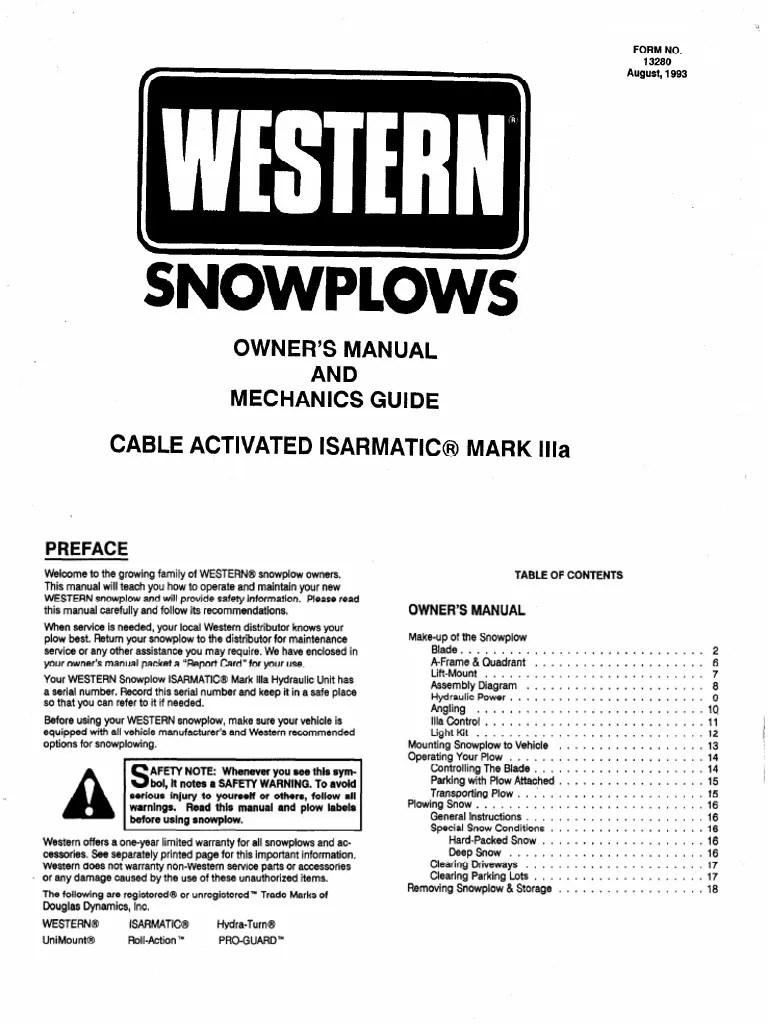 western plow hydraulic diagram [ 768 x 1024 Pixel ]