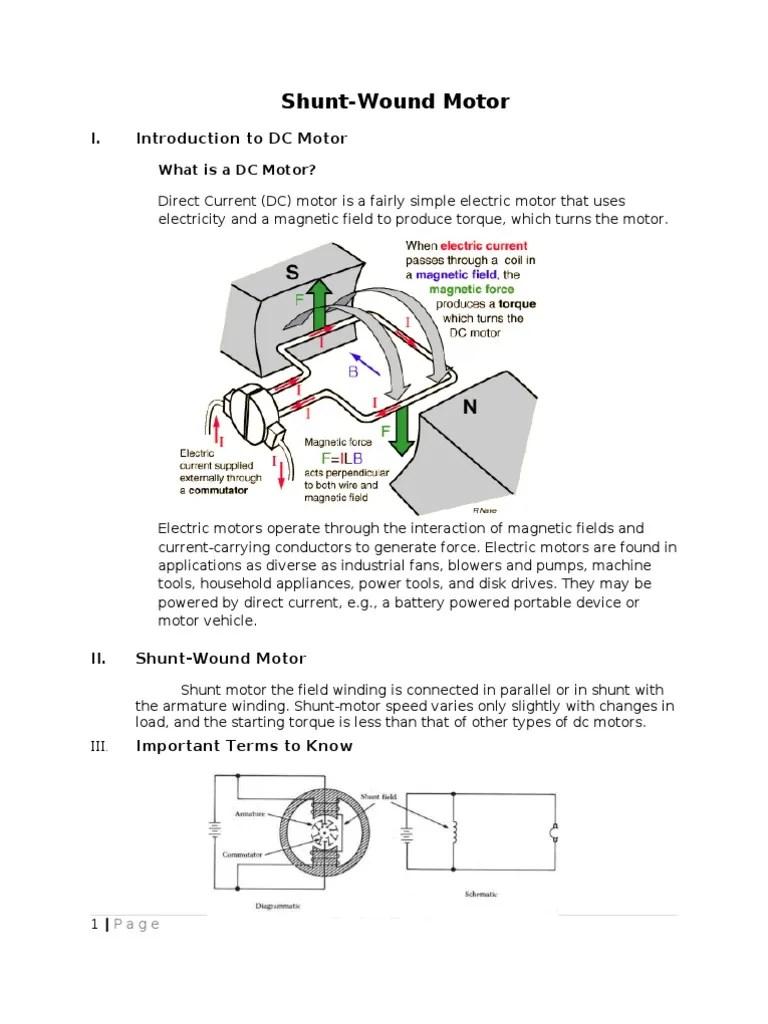 simple electric motor diagram [ 768 x 1024 Pixel ]