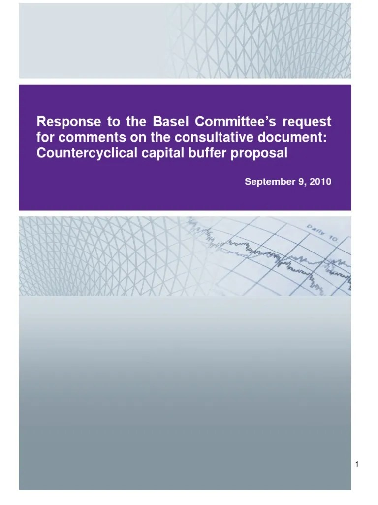 Algo-GC0910-BaselCommittee Counter Cyclical Response   Capital Requirement   Market Liquidity