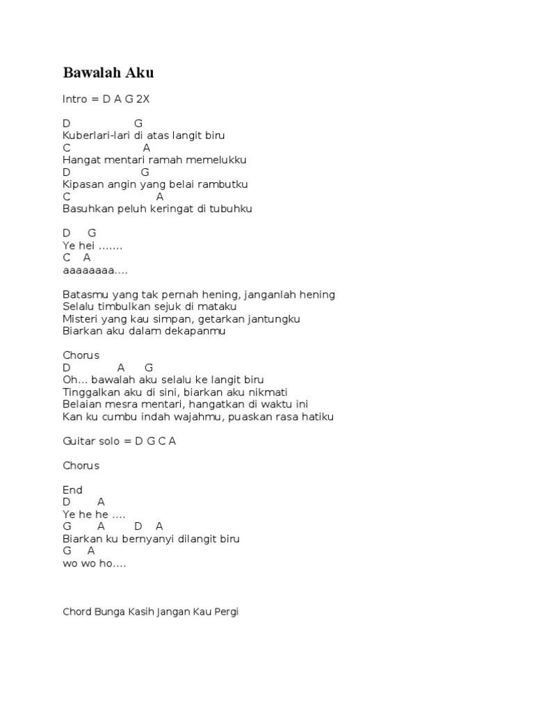 Chord Koyo Langit Ambi Bumi : chord, langit, Kunci, Gitar, Langit