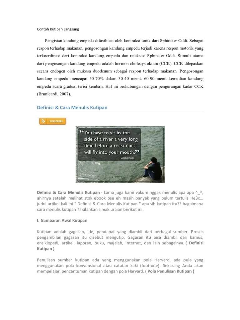 Contoh Kutipan Buku : contoh, kutipan, Contoh, Kutipan, Langsung