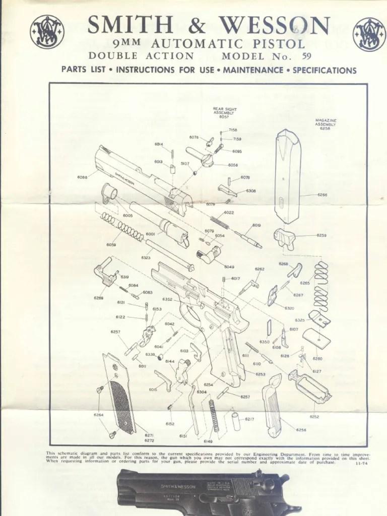 hight resolution of smith amp wesson schematics