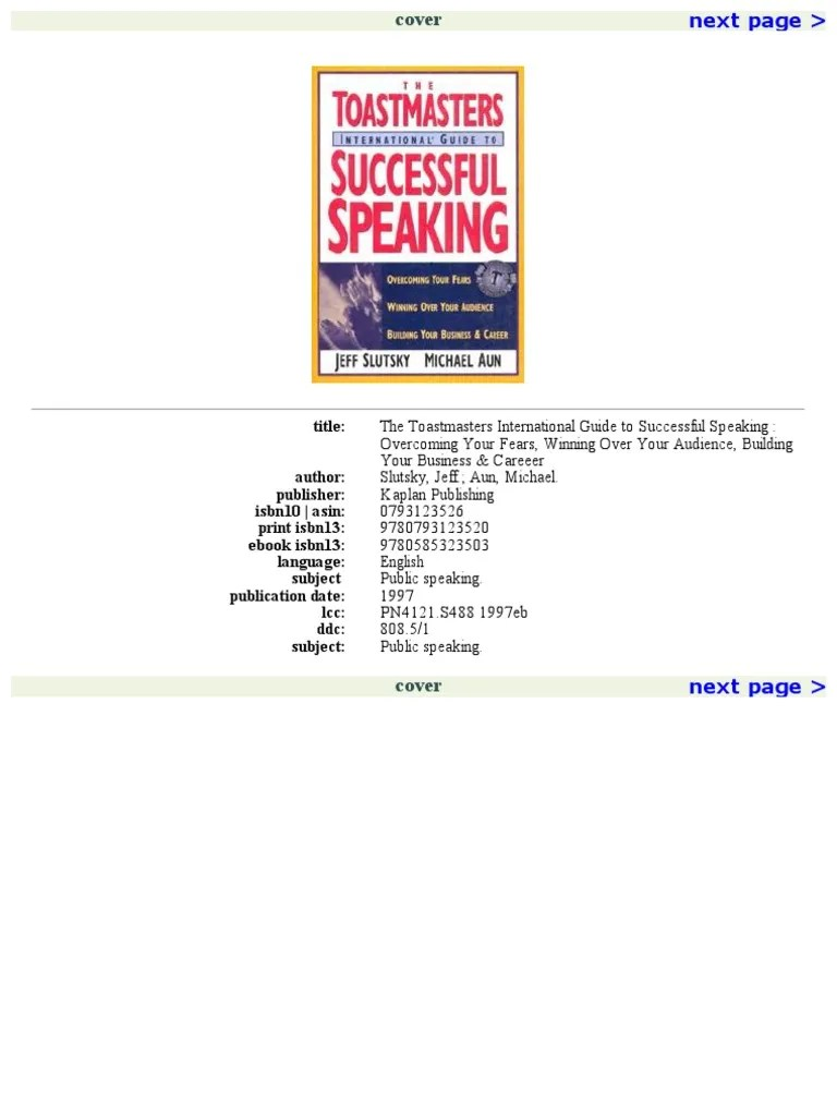 hight resolution of the toastmasters international guide to successful speaking public speaking jokes