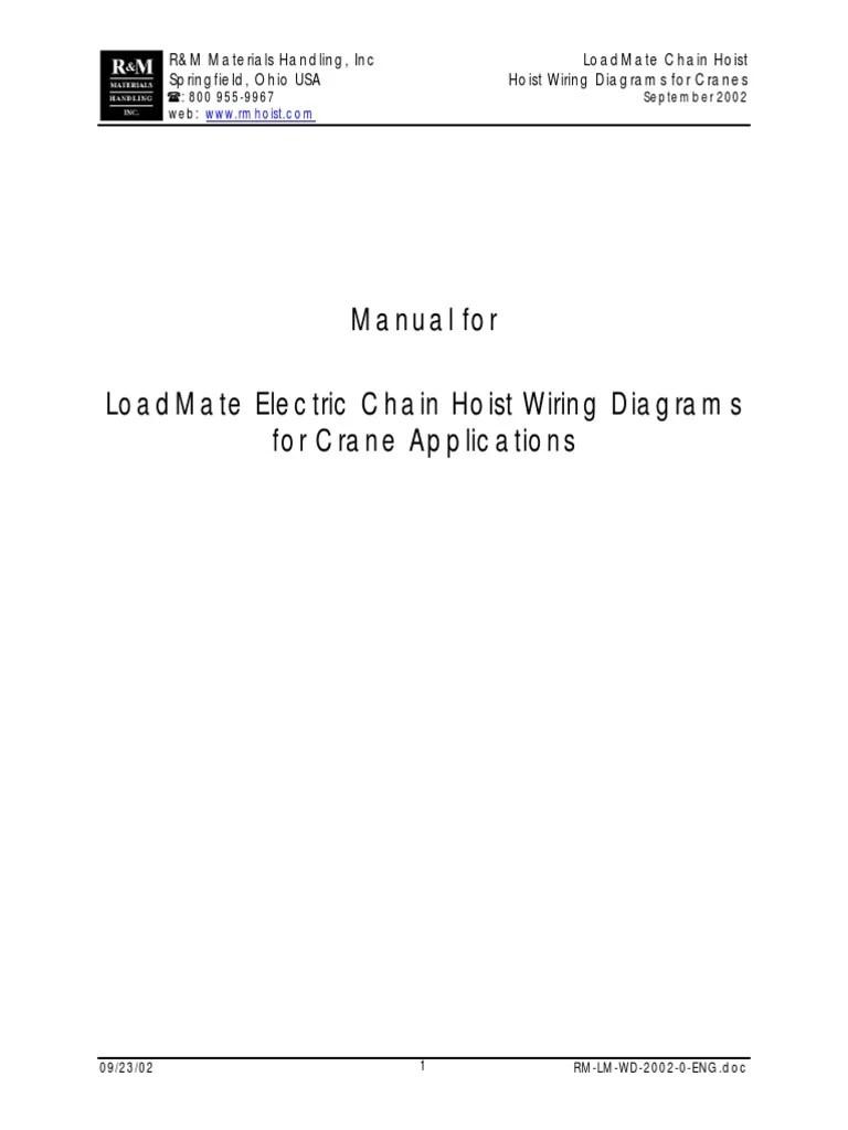 medium resolution of rm hoist wiring diagram