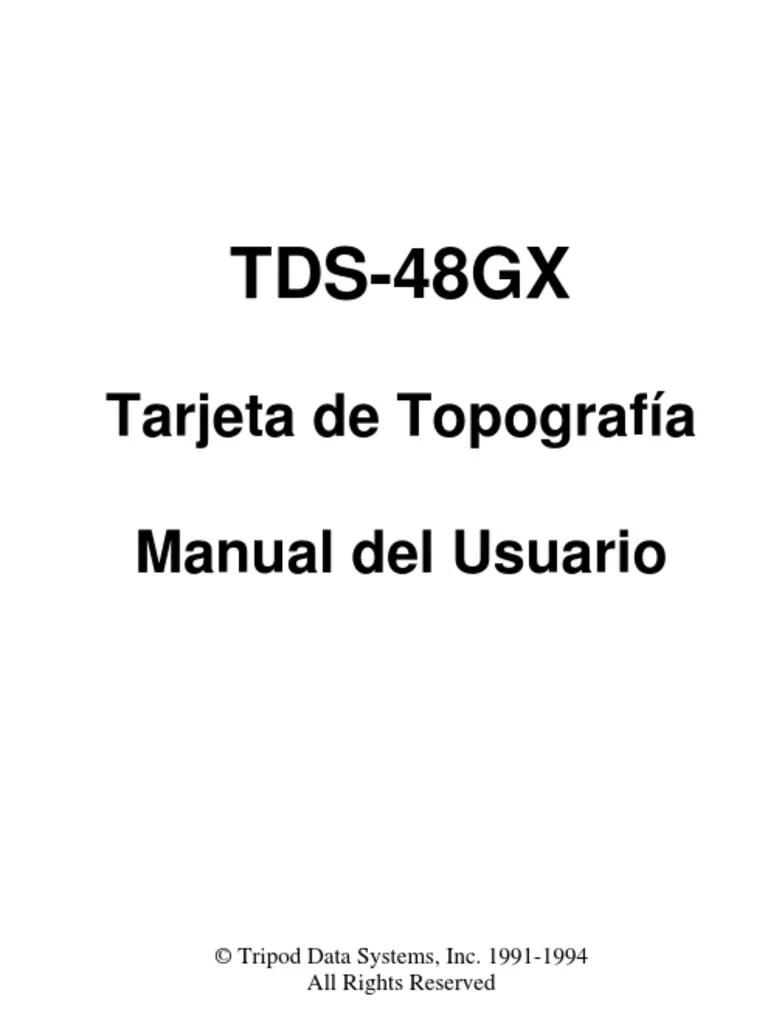 Topografia Colector HP 48GX