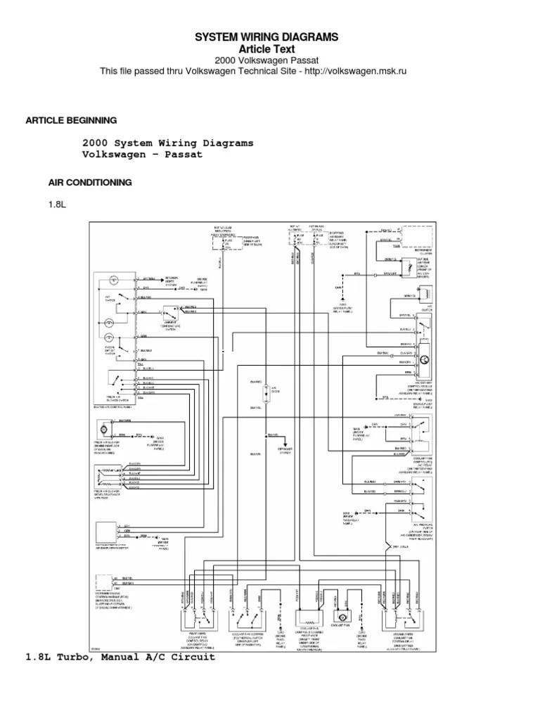 medium resolution of 2006 passat 2 0t fuse box imageresizertool com 2006 vw jetta wiring diagram