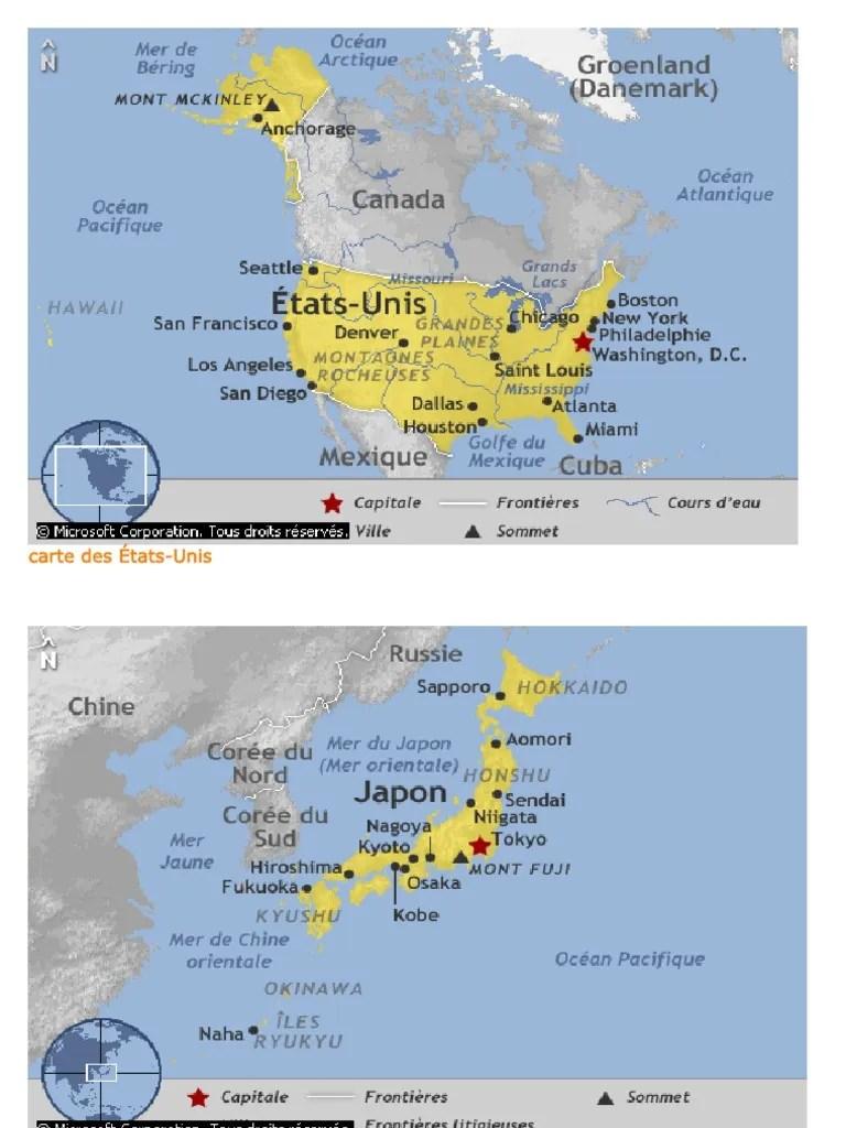 Etats Unis Carte Etats Et Capitales : etats, carte, capitales, Carte, États-Unis