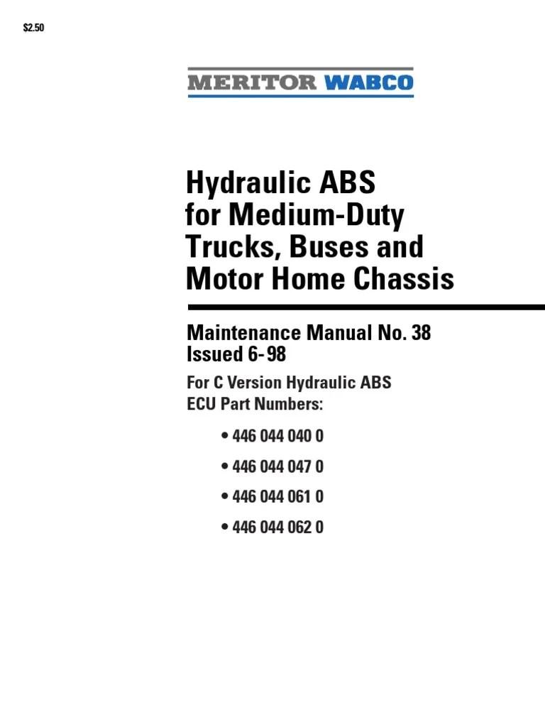 hight resolution of abs wabco pick ups anti lock braking system asbestos