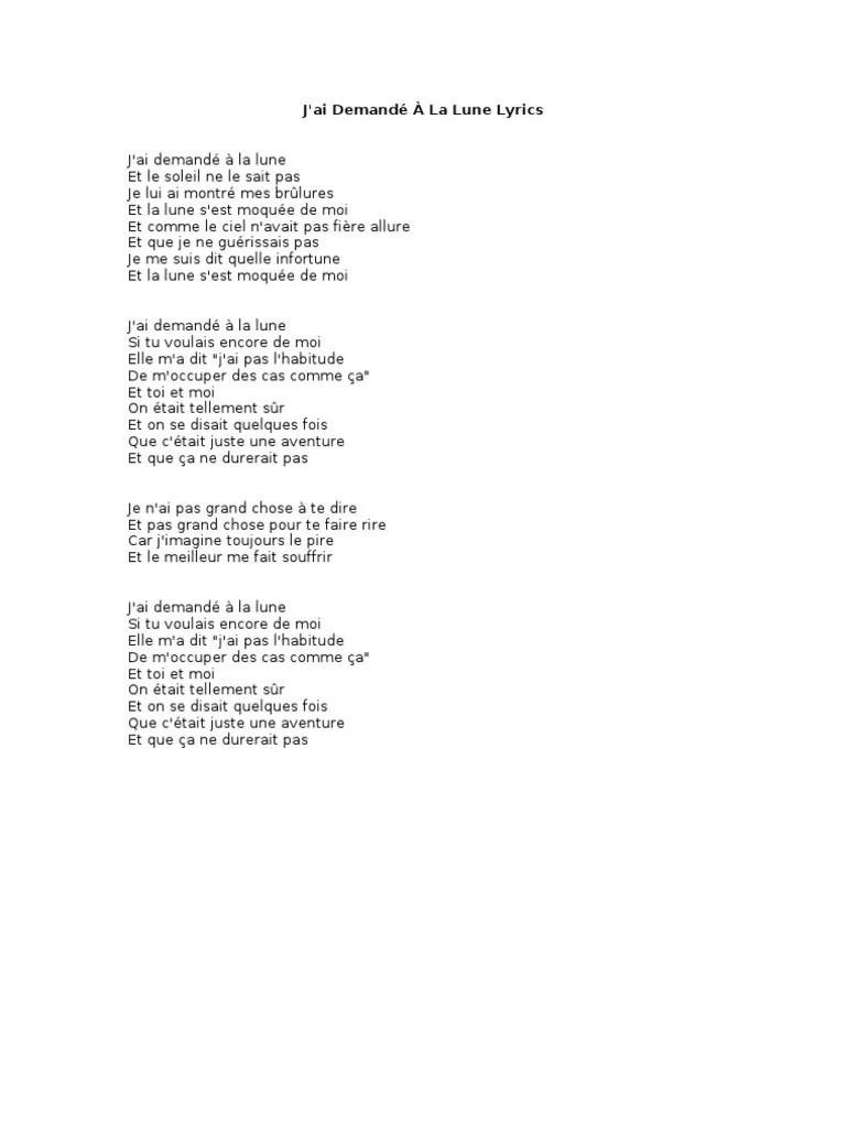 Souffrir Par Toi N Est Pas Souffrir Paroles : souffrir, paroles, Demandé, Lyrics