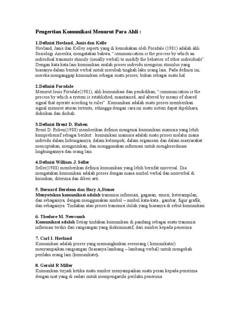 Definisi Komunikasi Menurut Para Ahli Beserta Daftar Pustaka : definisi, komunikasi, menurut, beserta, daftar, pustaka, Pengertian, Komunikasi, Verbal, Menurut