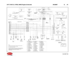 3406e Wiring