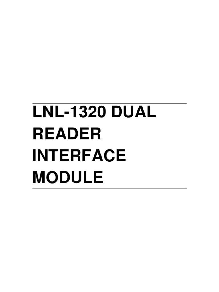 lenel panel wiring diagram [ 768 x 1024 Pixel ]