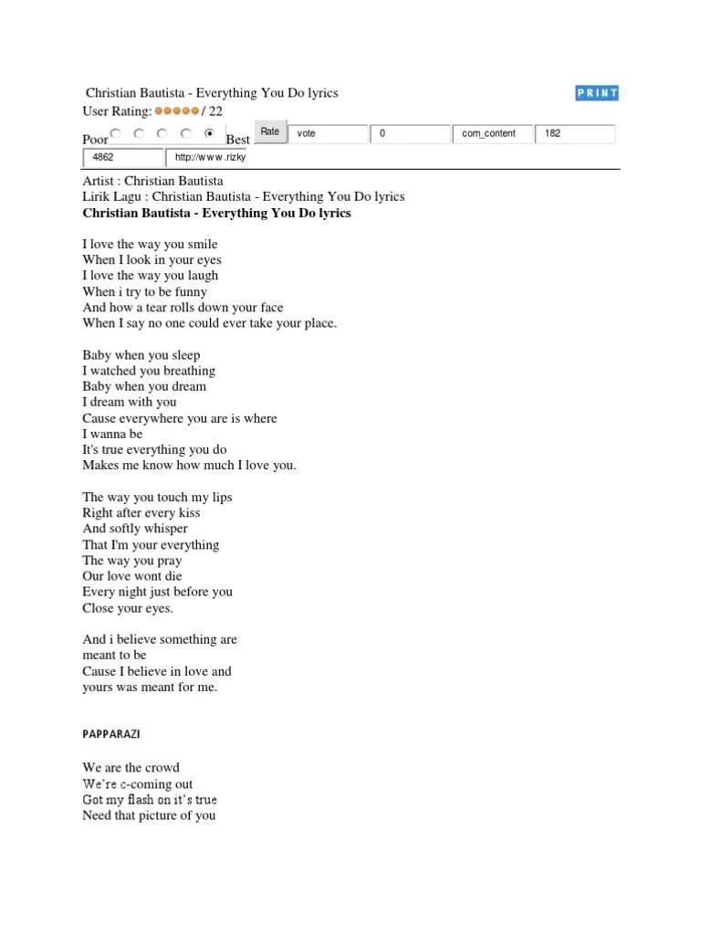 Lirik Lagu Kemenanganku : lirik, kemenanganku, Christian, Bautista1, Leisure, Entertainment, (General)