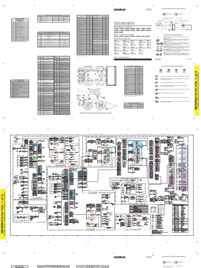 medium resolution of caterpillar 226b wiring diagram electrical connector switch bobcat 226 wiring diagram