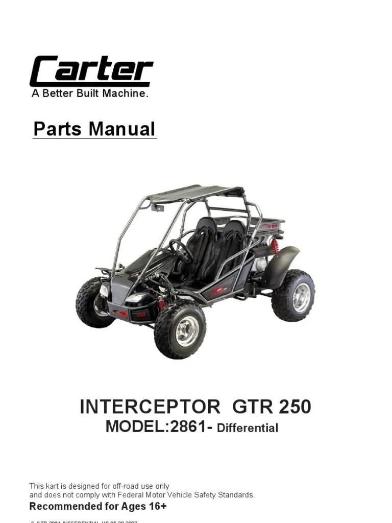 medium resolution of go cart differential diagram
