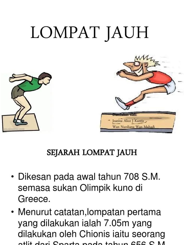 Sejarah Lompat Jauh Di Indonesia : sejarah, lompat, indonesia, Sejarah, Lompat