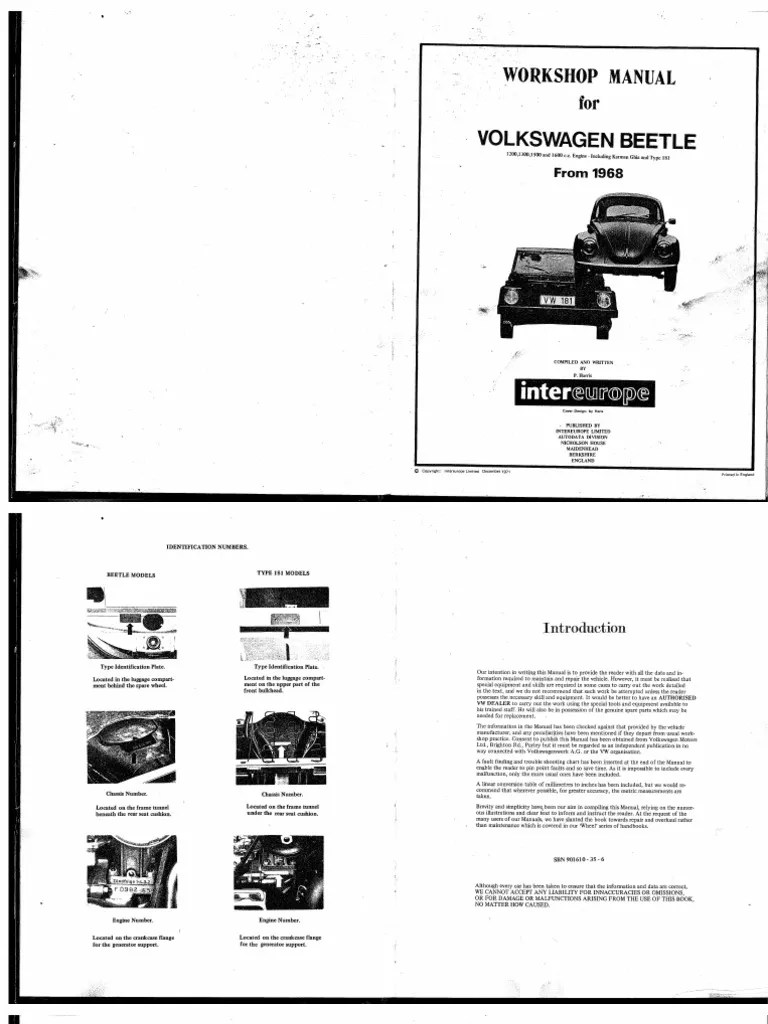 hight resolution of engine wire diagram for 72 beetle free download
