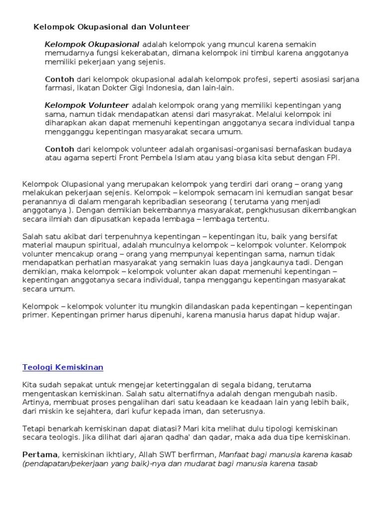 Kelompok Sosial Dipandang dari Sudut Individu.docx